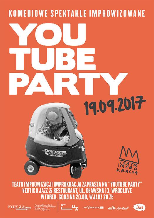 Teatr Improwizacji IMPROKRACJA: YouTube Party
