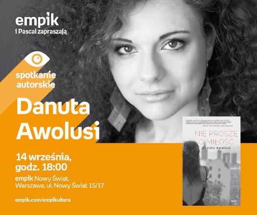 Danuta Awolusi - spotkanie autorskie