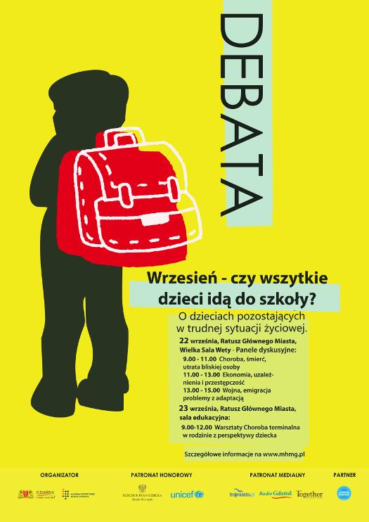 Wrzesień - czy wszystkie dzieci idą do szkoły?