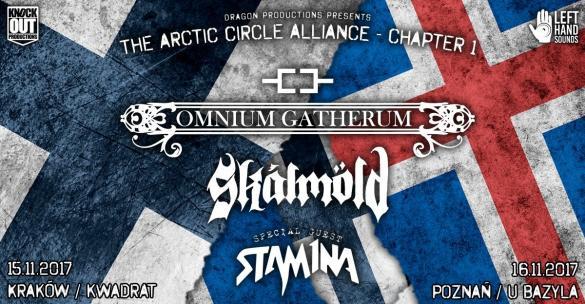 Omnium Gatherum, Skálmöld + Stam1na