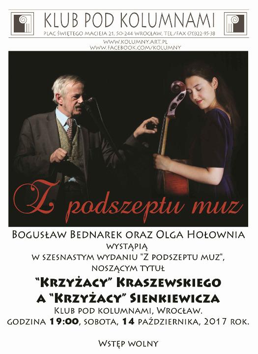 """""""O Krzyżakach Sienkiewicza i Kraszewskiego"""" opowiada Bogusław Bednarek"""