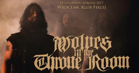 Wolves in the Throne Room w Klubie Firlej (support: Wiegedood)