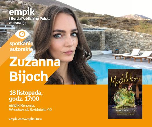 Spotkanie autorskie z Zuzanną Bijoch