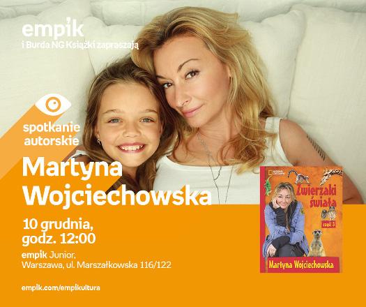 Spotkanie autorskie z Martyną Wojciechowską