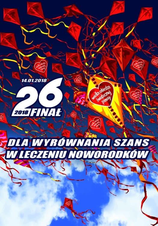 26. Finał WOŚP 2018 w Kielcach - program