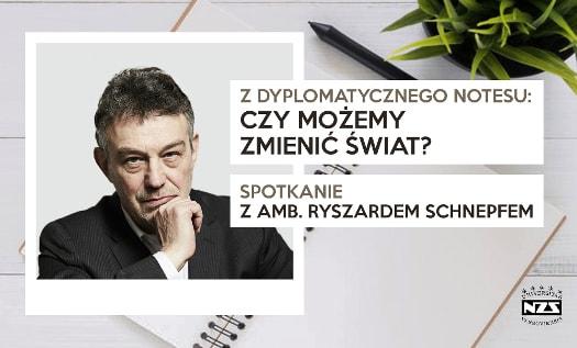 Spotkanie z ambasadorem Ryszardem Schnepfem