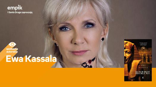 Ewa Kassala - spotkanie autorskie