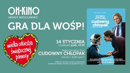 Oh Kino w Arkadach Wrocławskich gra dla WOŚP