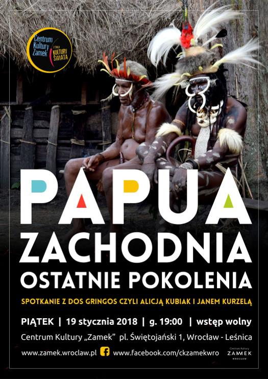 Papua Zachodnia - ostatnie pokolenia - spotkanie podróżnicze