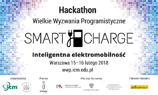 """II edycja hackathonu """"Smart Charge – Inteligentna elektromobilność"""""""