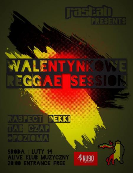 Walentynkowe Reggae Session z RAS TAB