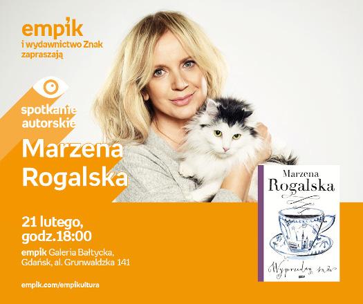 Marzena Rogalska - spotkanie autorskie