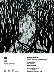 """""""Nie- miejsce"""" - wystawa w Pracowni Duży Pokój"""