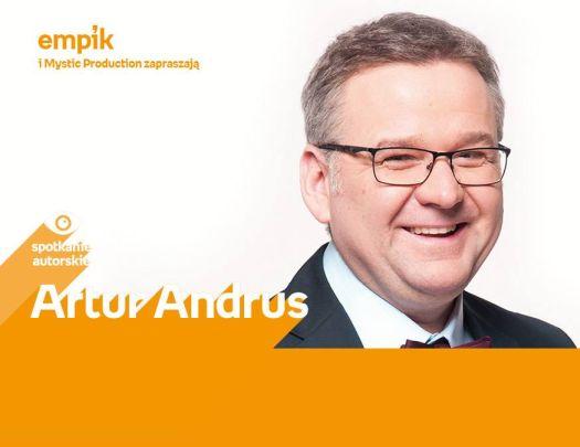 Artur Andrus - spotkanie autorskie