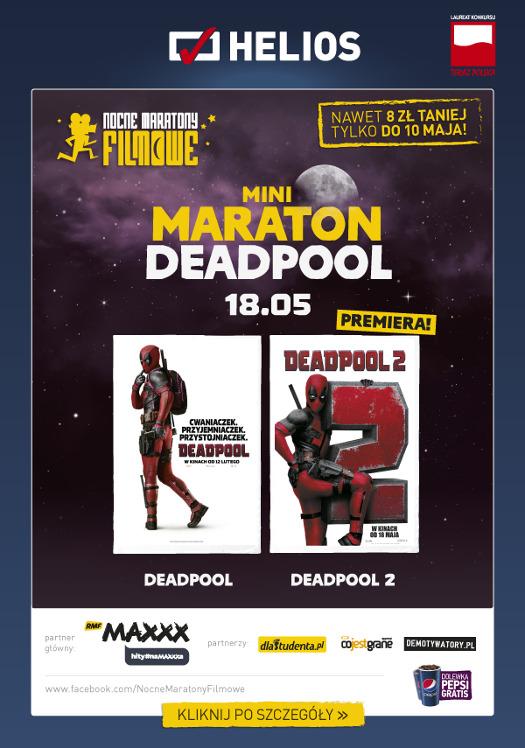 Mini Maraton Deadpoola w Heliosie