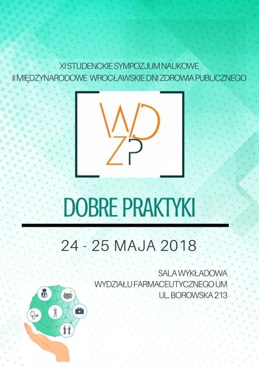 """XI Studenckie Sympozjum Naukowe """"Wrocławskie Dni Promocji Zdrowia"""""""