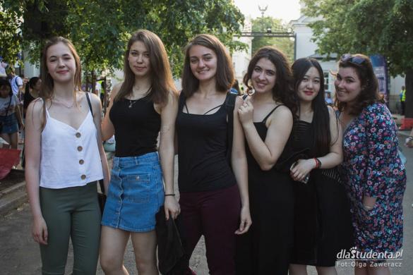 Juwenalia 2018: Uniwersytet Warszawski - koncerty: dzień 1