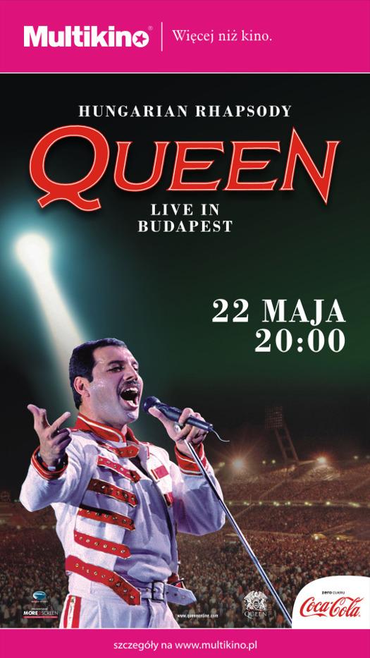 Niezapomniany koncert Queen z 1986 roku na ekranie Multikina