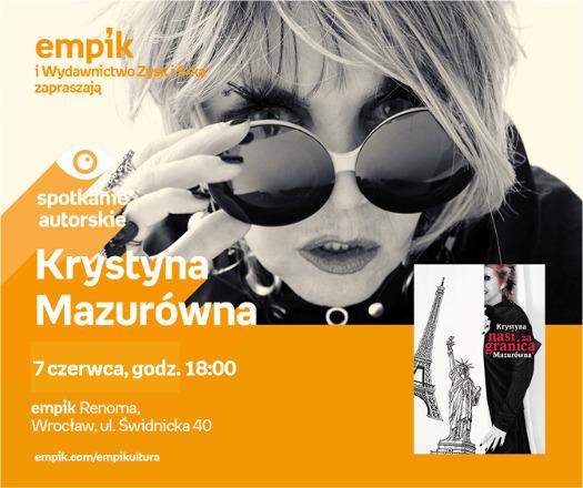 Krystyna Mazurówna - spotkanie autorskie