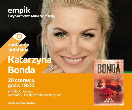 Katarzyna Bonda - spotkanie autorskie