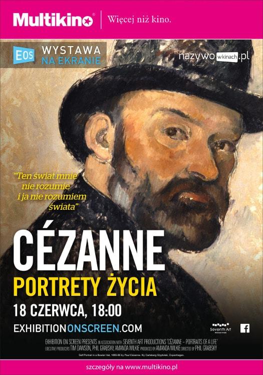 Wystawa na Wielkim Ekranie i wielki Cezanne w Multikinie