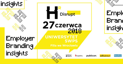 "Konferencja ""HR Disrupt - Employer Branding Insights"""