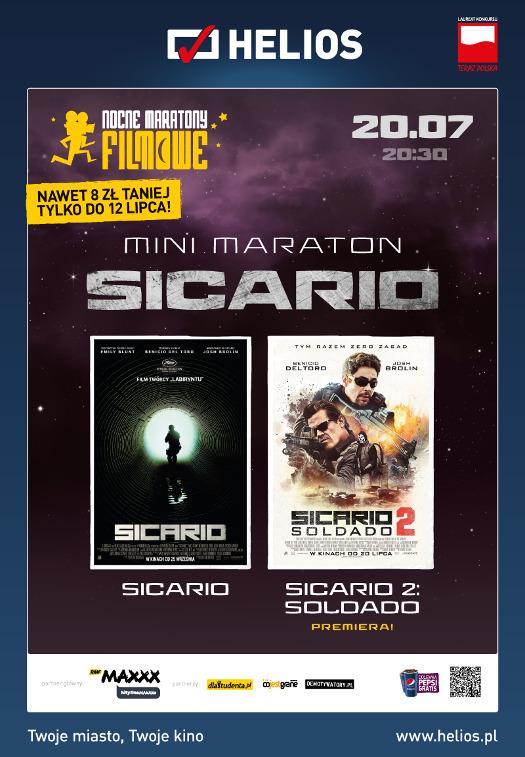 Nocne Maratony Filmowe w Heliosie: Minimaraton Sicario