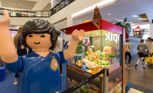 Playmobil - interaktywna wystawa w Magnolia Park