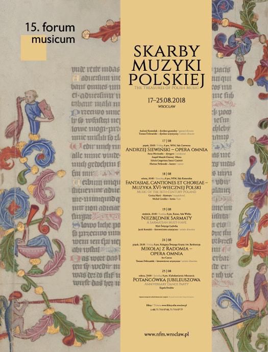 15. Forum Musicum - Skarby muzyki polskiej