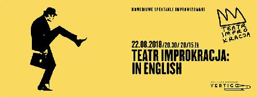 Teatr Improwizacji IMPROKRACJA: Improkracja in English