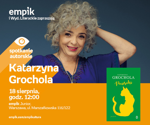 Katarzyna Grochola - spotkanie autorskie