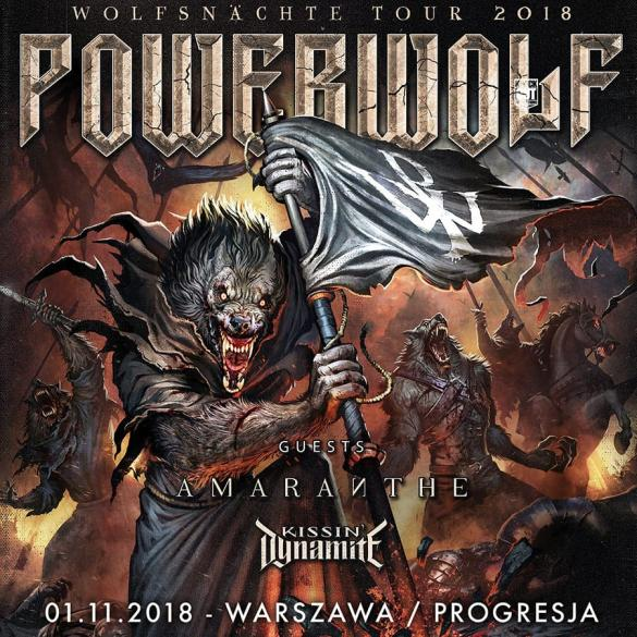 Powerwolf + Amaranthe