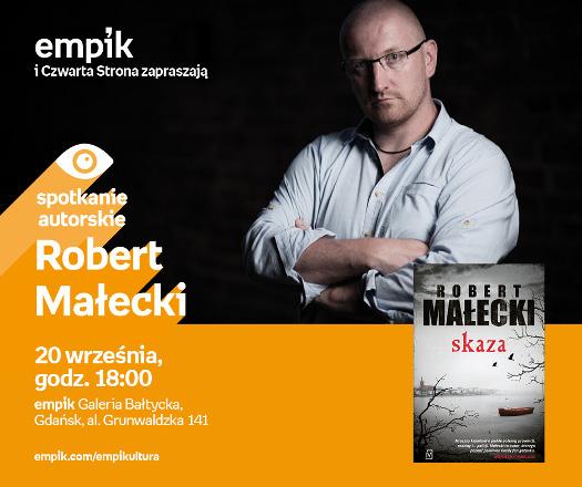 Robert Małecki - spotkanie autorskie