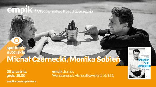 Michał Czernecki, Monika Sobień - spotkanie autorskie