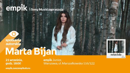 Marta Bijan - spotkanie autorskie