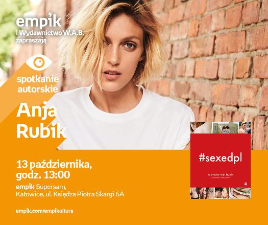 Anja Rubik - spotkanie z czytelnikami
