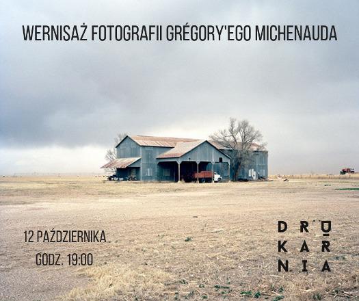 Wernisaż fotografii Grégory'ego Michenauda