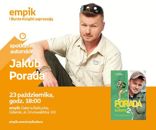 Jakub Porada - spotkanie autorskie