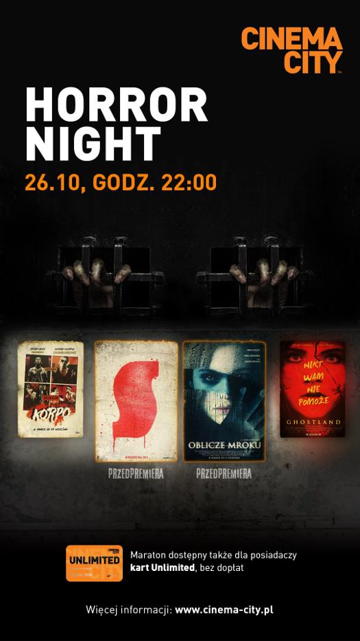 Maraton horrorów na Halloween w Cinema City