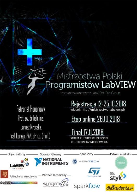 Gala Finałowa Mistrzostw Polski Programistów LabVIEW 2018