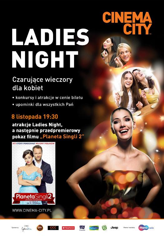 Ladies Night w Cinema City: Planeta Singli 2