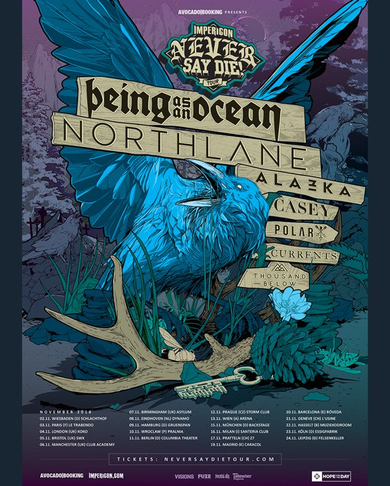 Impericon Never Say Die! Tour 2018