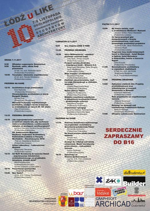 """Seminarium Naukowe """"Łódź U Like 2018"""""""