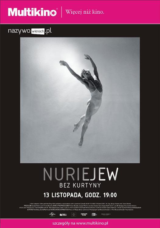 """""""Nuriejew: Bez kurtyny"""" w Multikinie"""