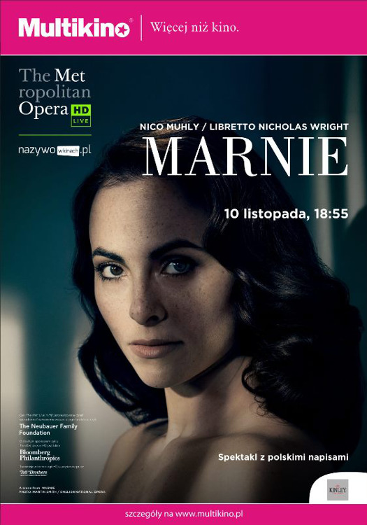 The Met Live in HD w Multikinie: Marnie