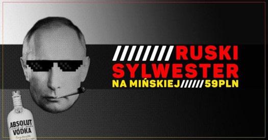 Ruski Sylwester - Gruba Wixa na Mińskiej