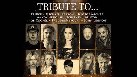 Tribute to... Prince, Michael Jackson, George Michael, Amy Winehouse, Whitney Houston, ...