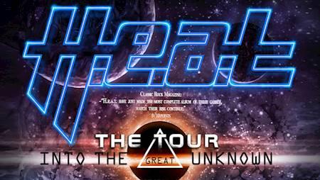 H.E.A.T. & Special Guests: Shiraz Lane, One Desire