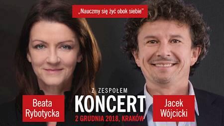 """Beata Rybotycka i Jacek Wójcicki """"Nauczmy się żyć obok siebie"""""""