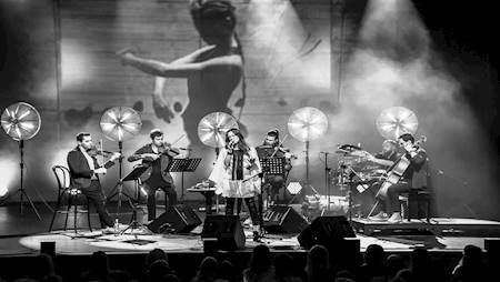 Natalia Kukulska & Atom String Quartet i Michał Dąbrówka